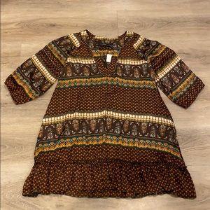 Patterson J. Kincaid boutique dress NWT Large